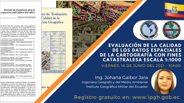 webinar evaluacion de la calidad cartografia web